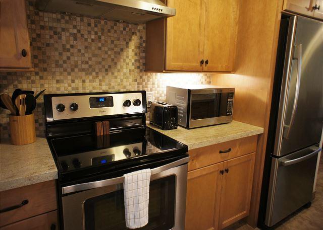 Modern Well Stocked Kitchen