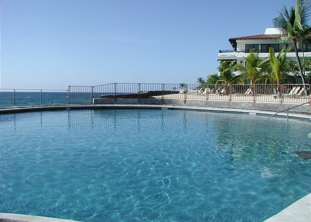 Newly remodeled salt water pool right on the ocean