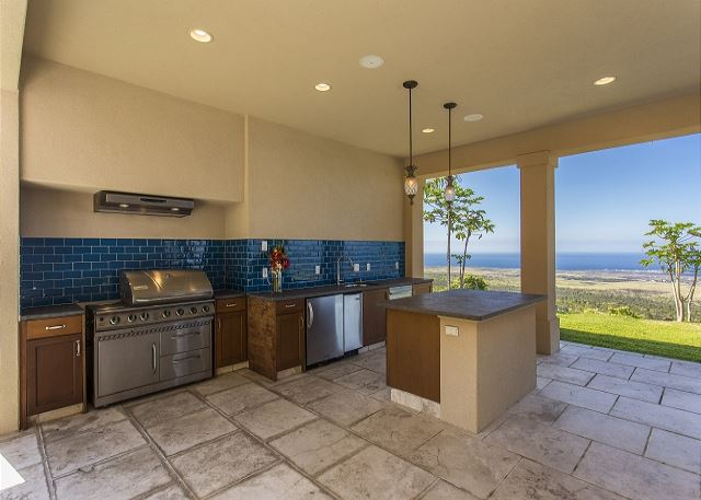 Outdoor Grilling and Mini Kitchen