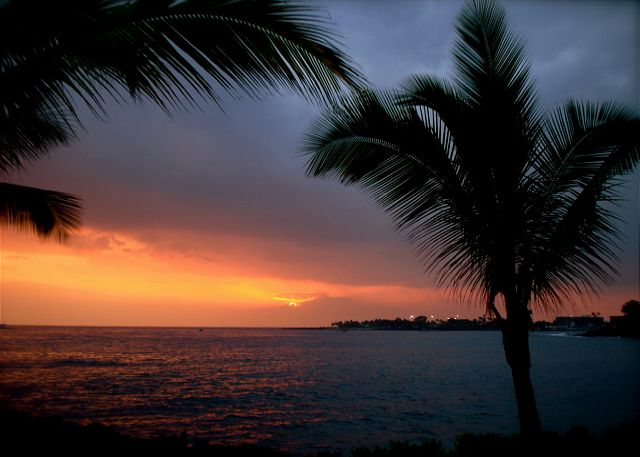 Sunsets on the Kona Coast.
