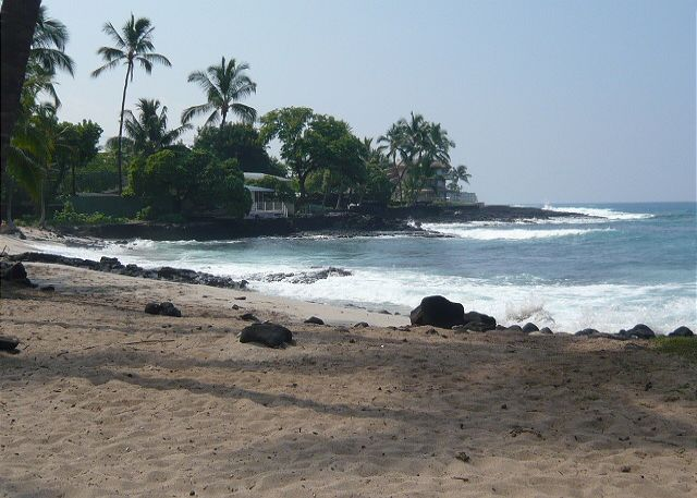 Honl Beach at the Kona Reef