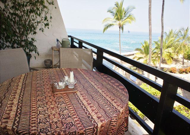 Lanai with Great Ocean Views