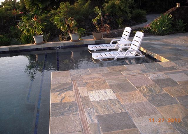 Private Pool with Soaking Deck