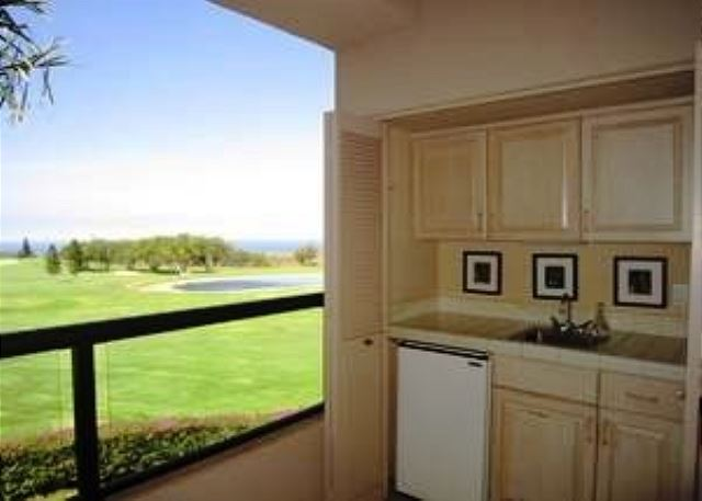 Lanai with Golf and Ocean Views