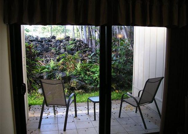 Lanai with Garden View