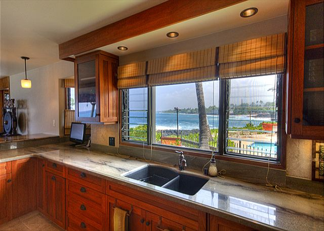 Amazing views from the Kitchen