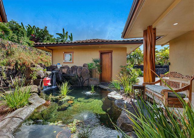 Koi Ponds In Entry