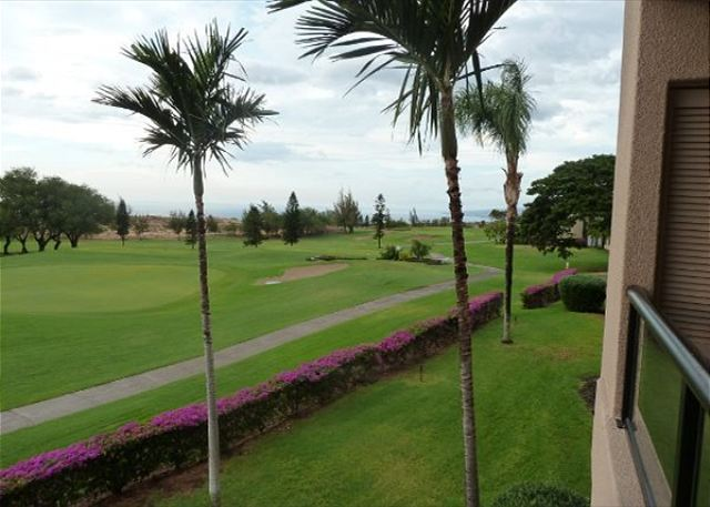 Golf Course and Ocean View from Lanai