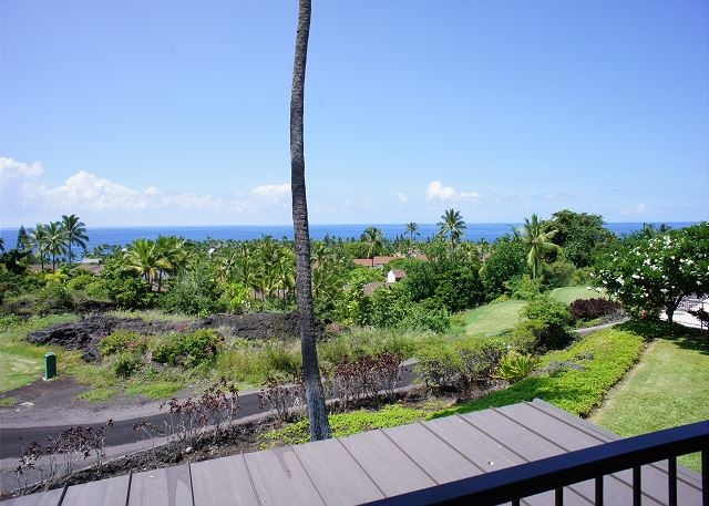 Ocean Views from the Lanai