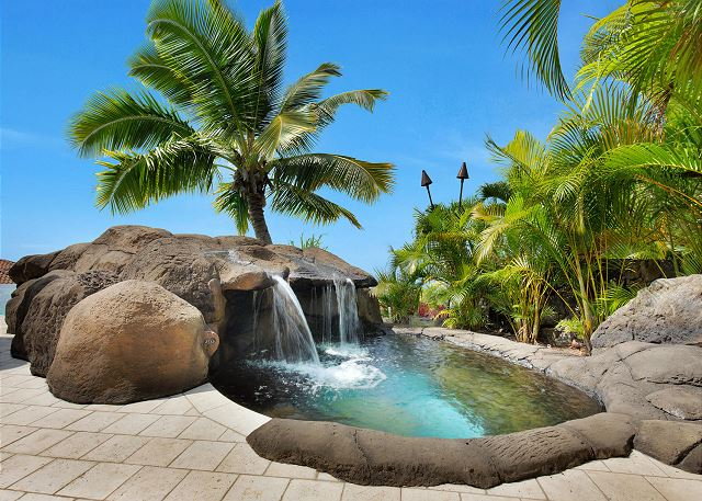 Private Pool with Separate Plunge Pool