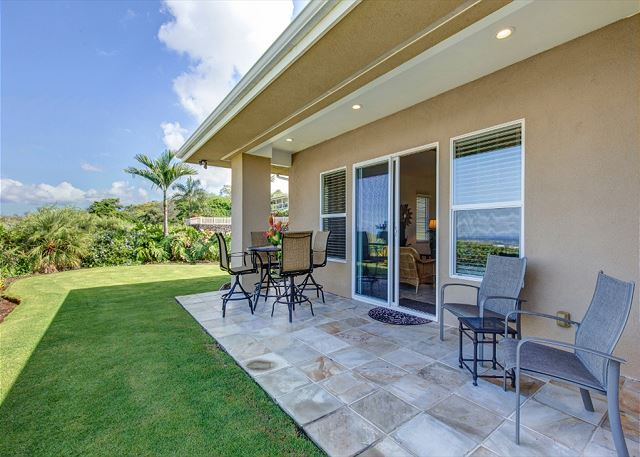 Covered Lanai Space