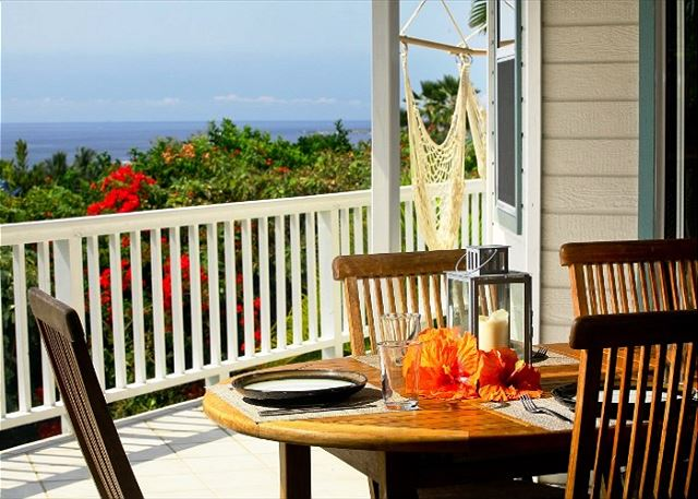 Amazing Ocean Views from Lanai Dining