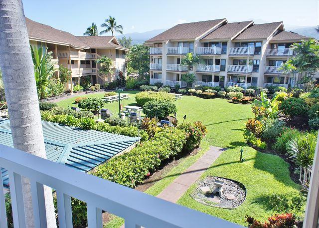 Courtyard View From Lanai