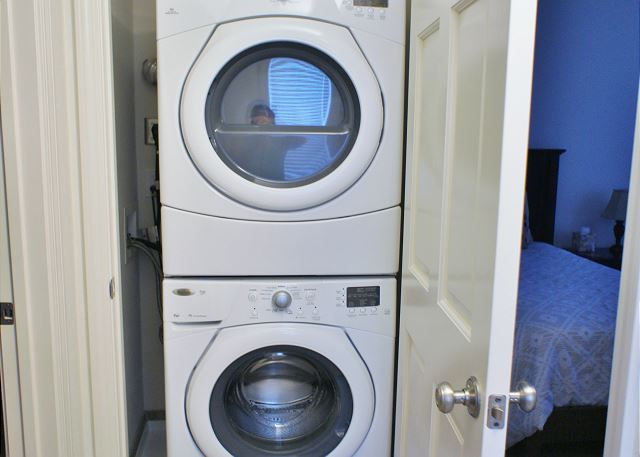 Full size washerdryer for your convenience