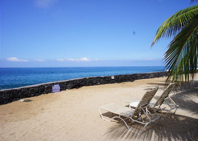 Ocean Front Man Made Beach