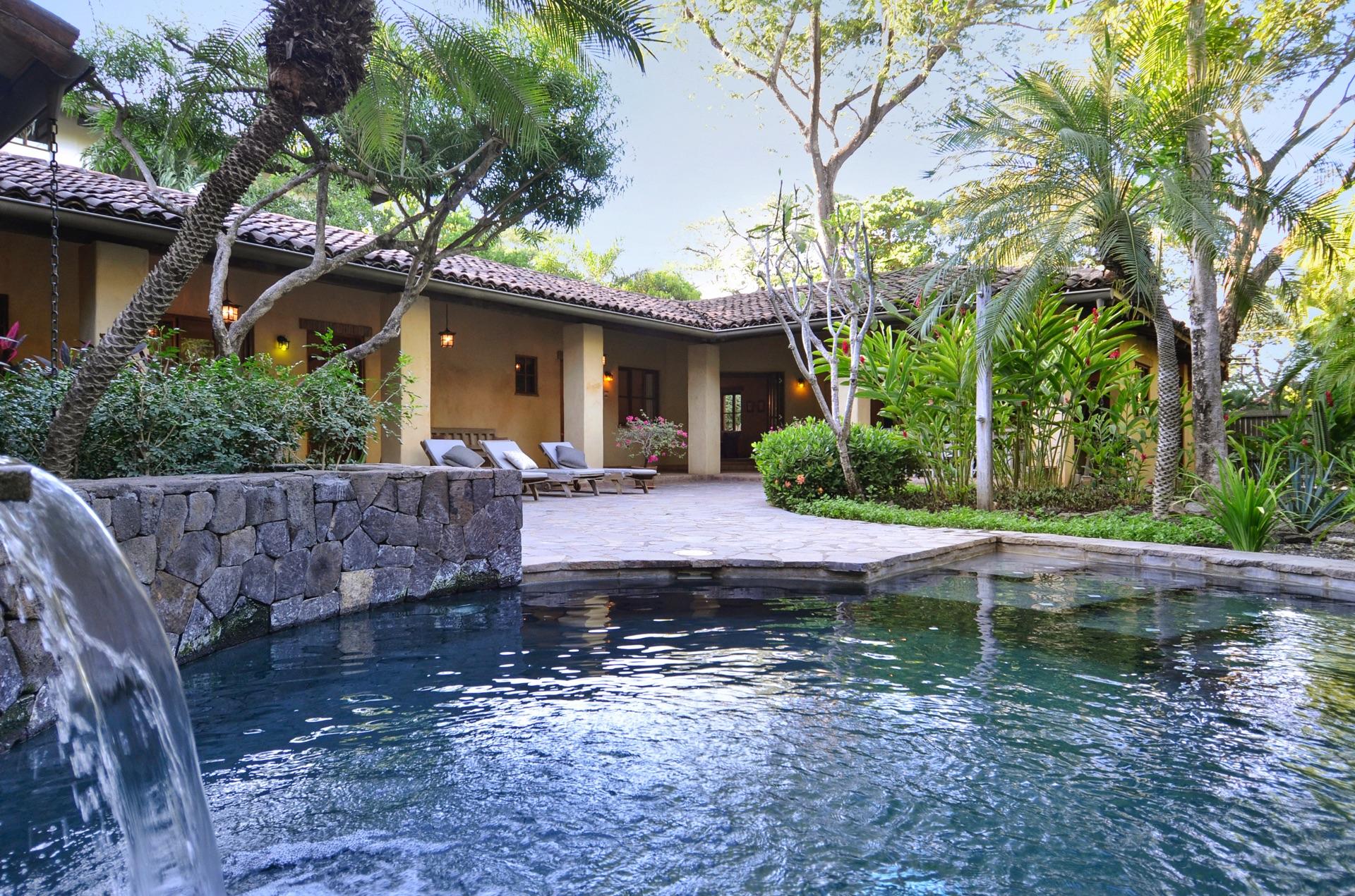 Private pool at Hacienda del Pacifico