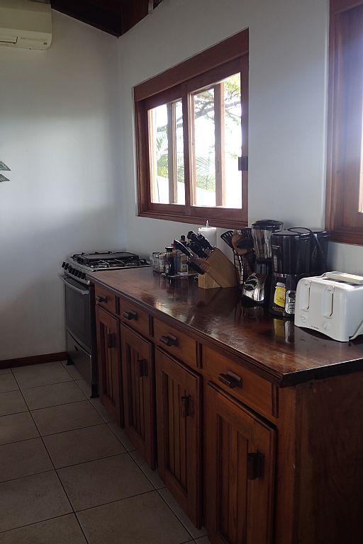 Fully equipped kitchen for most cooking needs