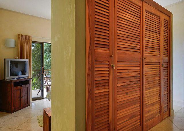 Private Closet in Master Bedroom
