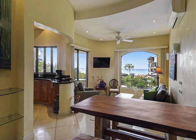 Spacious Ocean View Living Area