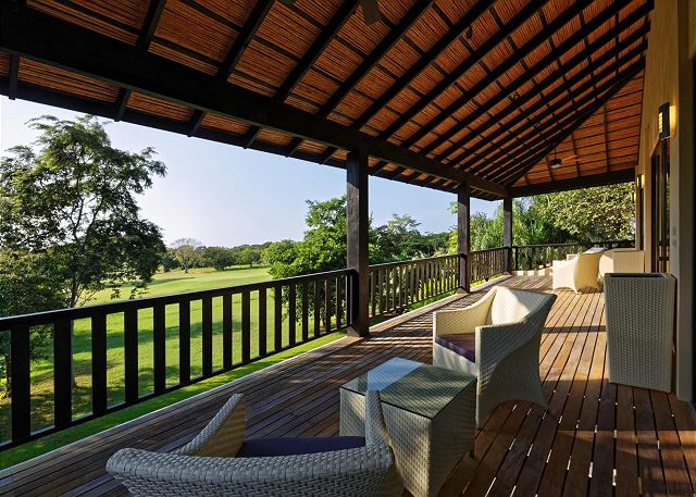 Enjoy an outstanding view from our balcony