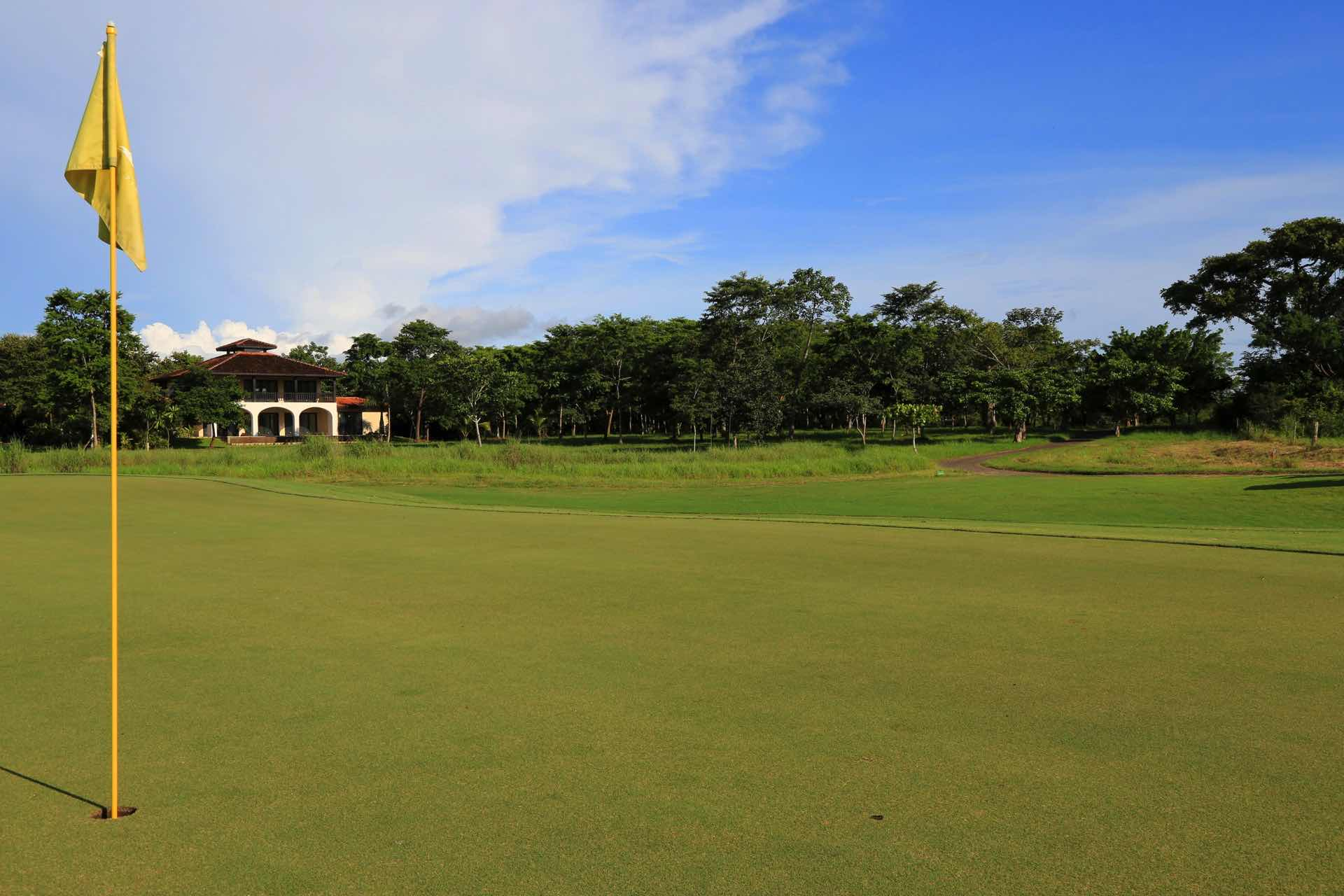 Our home from the golf course