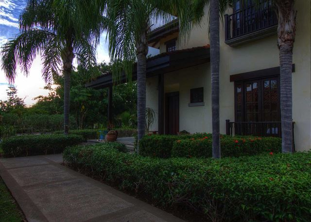 The entrance to Villa Bonita