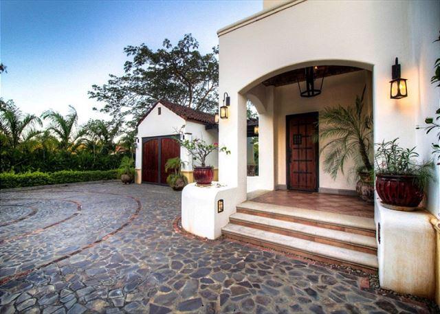 Casa Orchidea's front entrance
