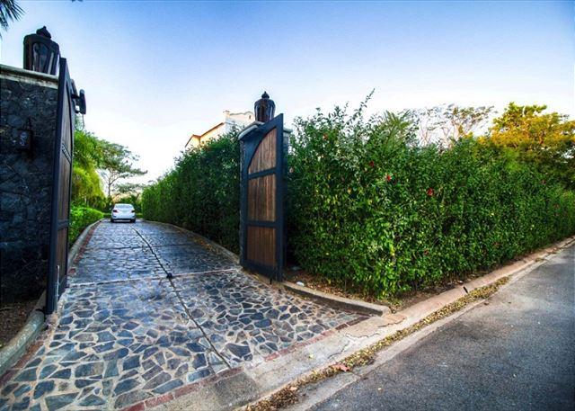 Casa Orchidea gated entrance
