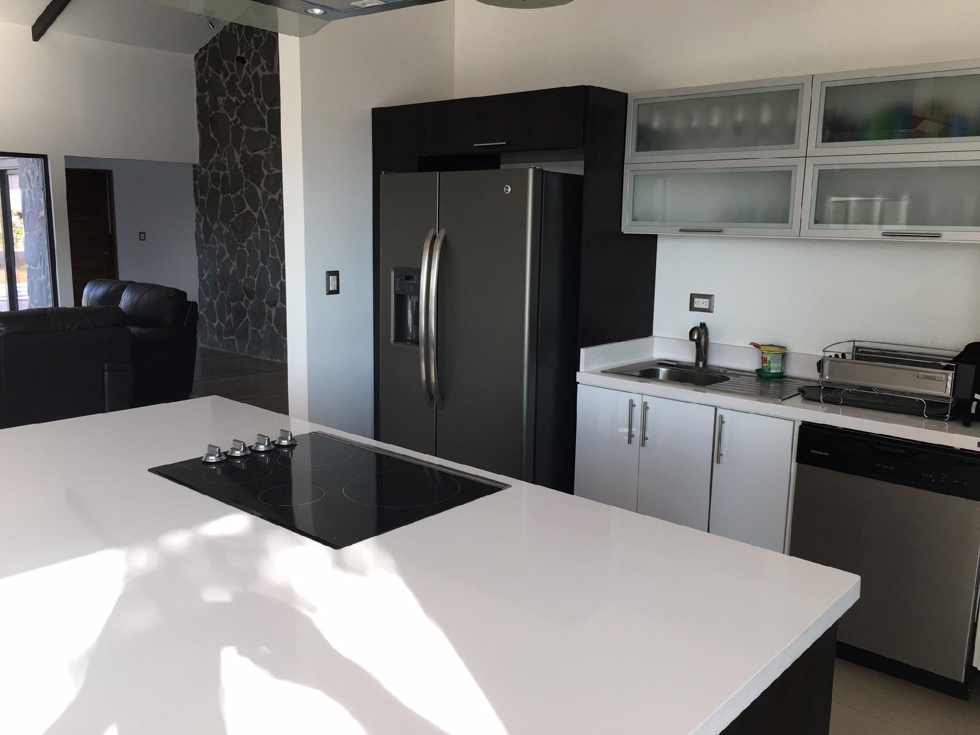White Granite counter-tops