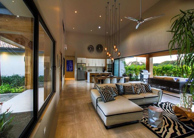 High ceilings, beautiful open spaces, and natural light