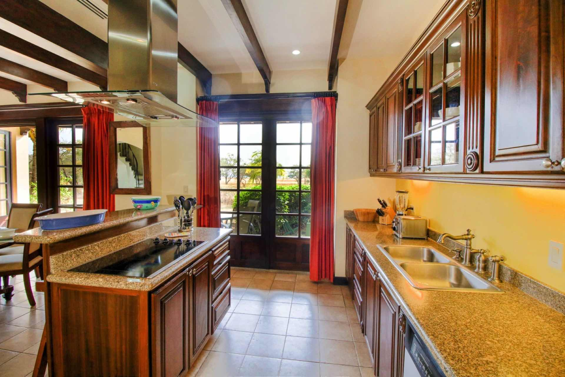 Fully equipped kitchen to cook your own meals