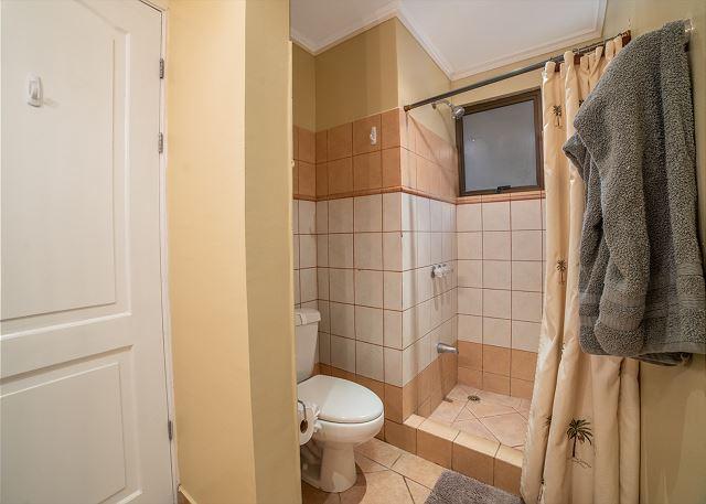 Elegant shower in the bathroom