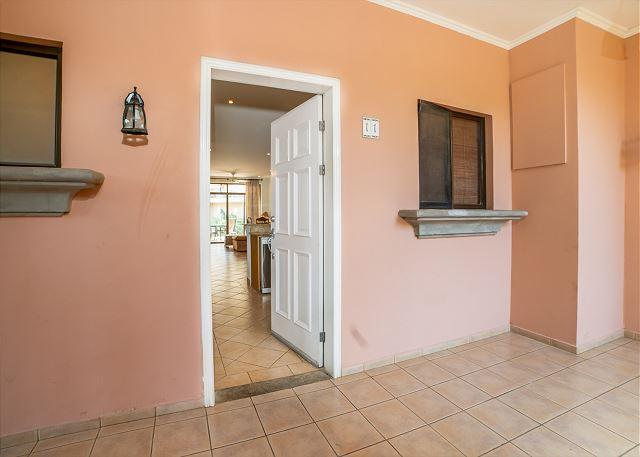 Entrance to the gorgeous condo