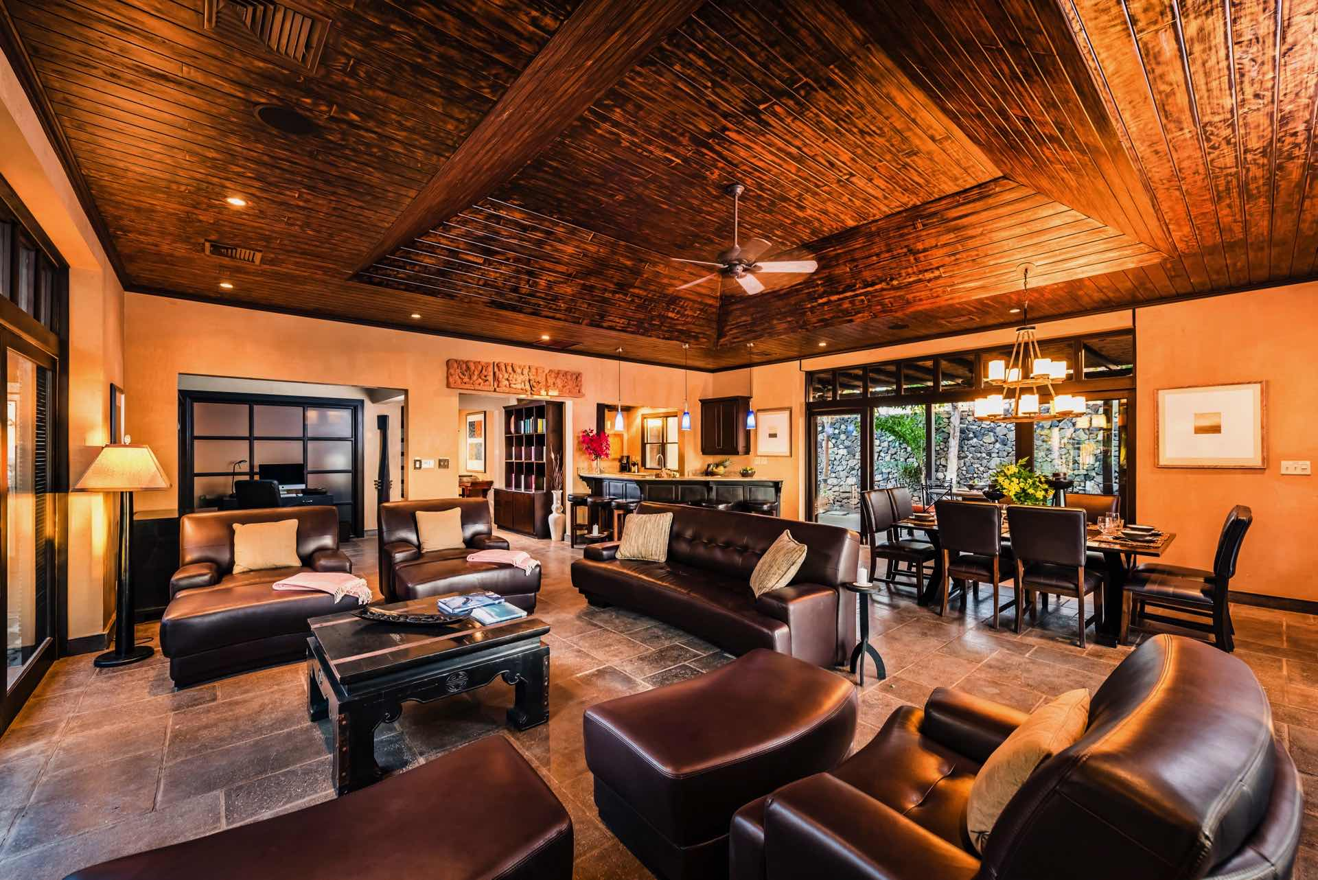 Large living area for the whole family