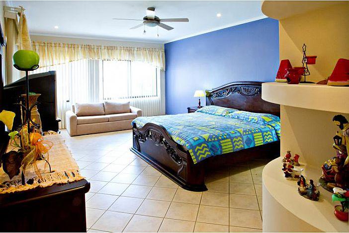 Large bright master suite