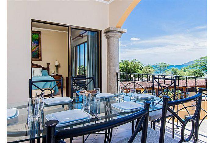 Ocean-view balcony