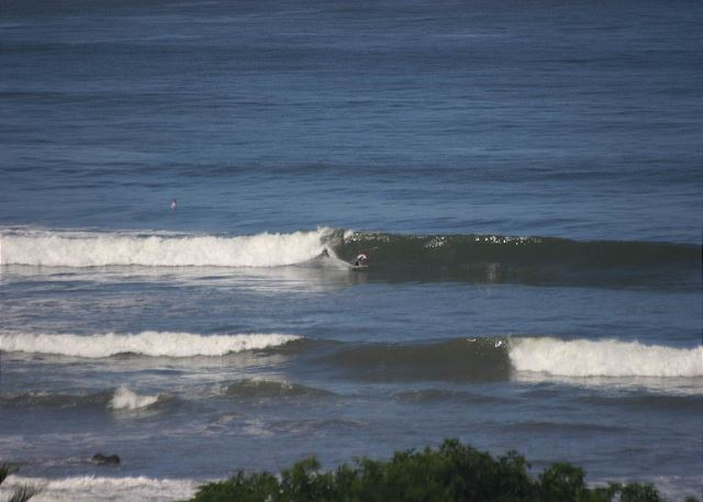 Langosta beach is famous for amazing surf