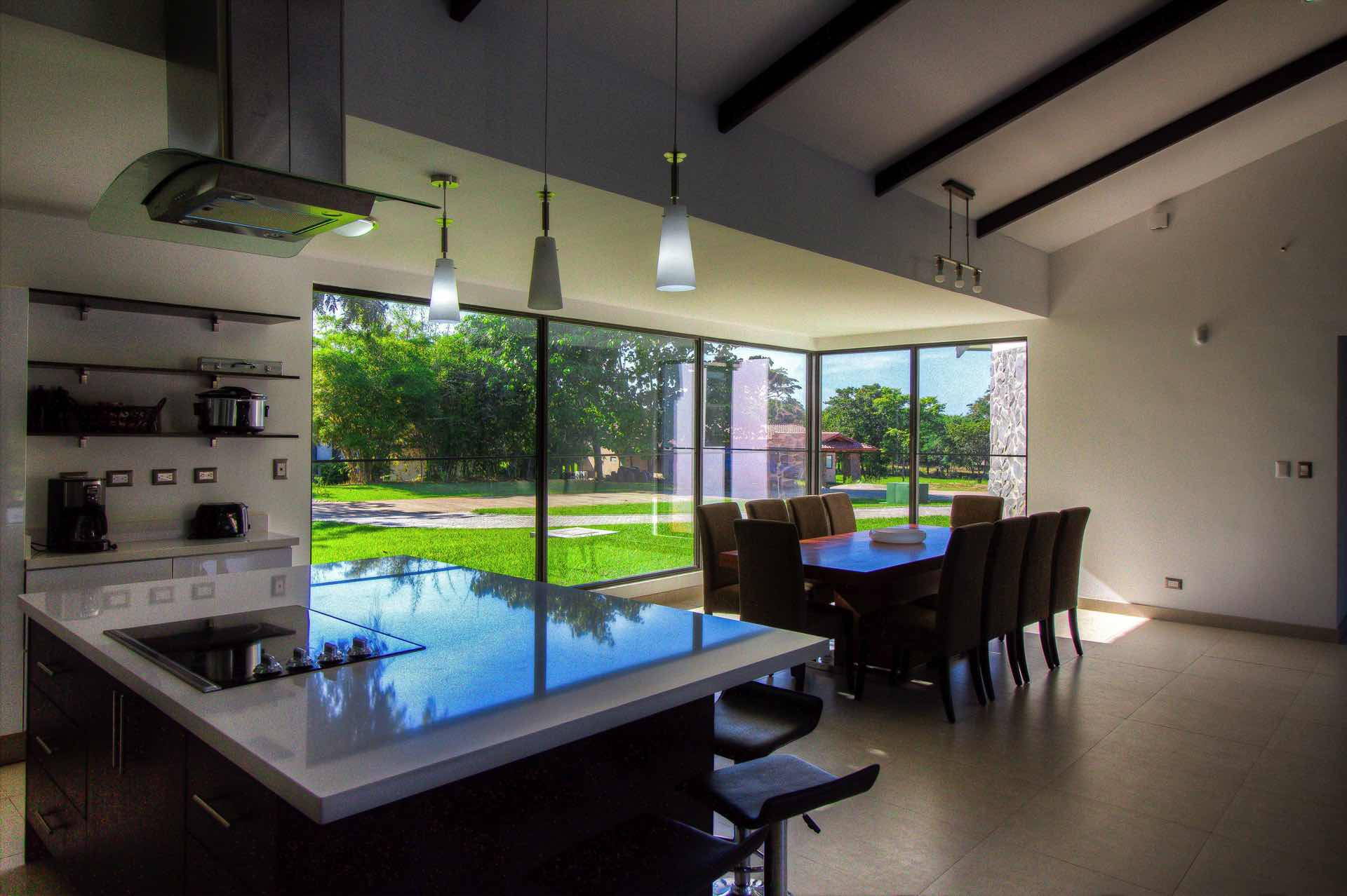 Casa Cielo's spacious kitchen