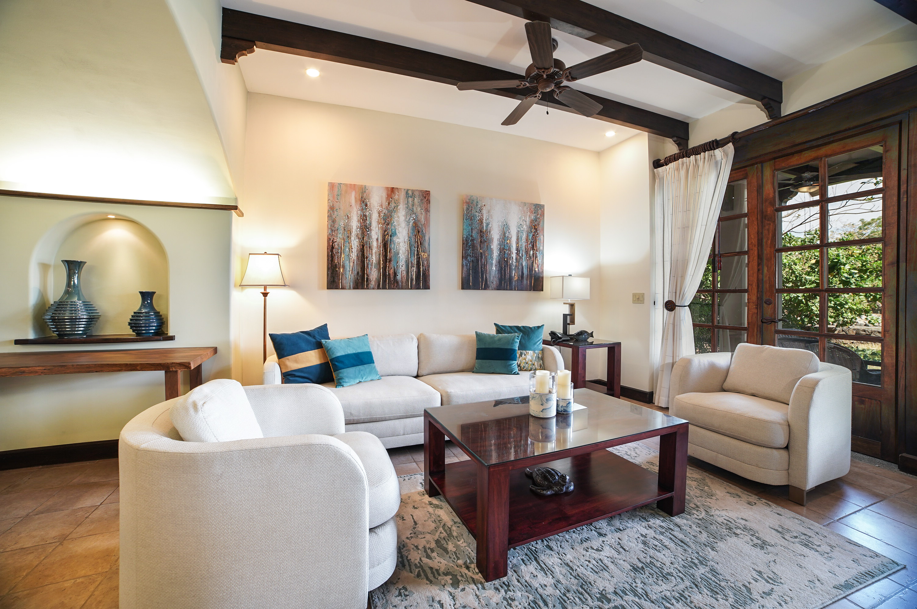 Relax with the family in the main living room