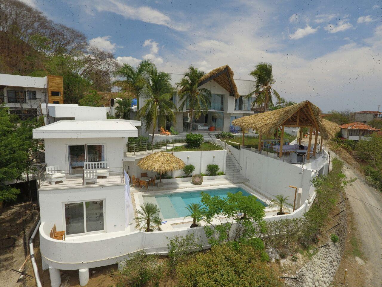 Casa Ilios from a bird's eye view