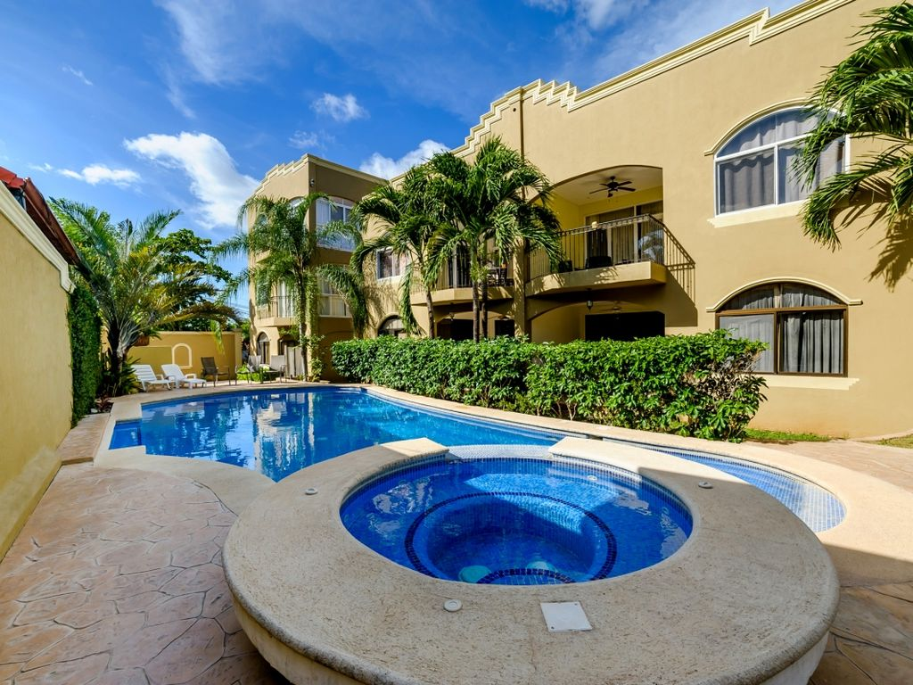 Nice pool area to relax