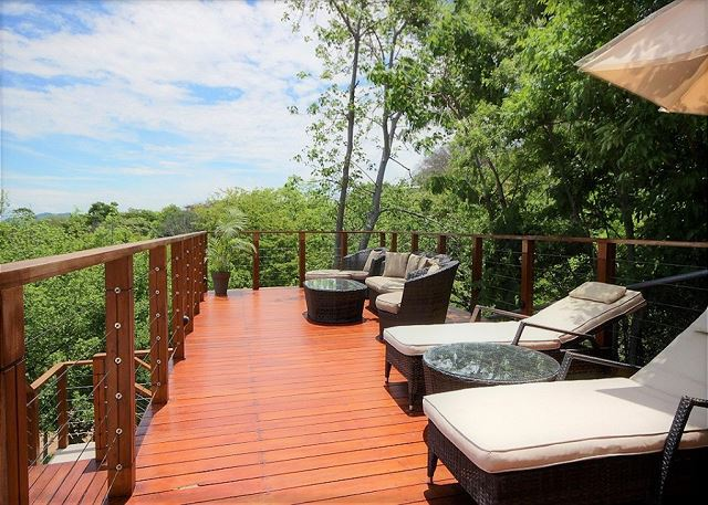 How about relaxing on this deck?