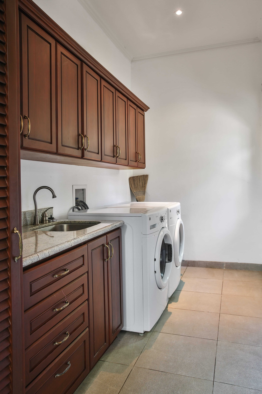 Laundry Room at Casa Serena