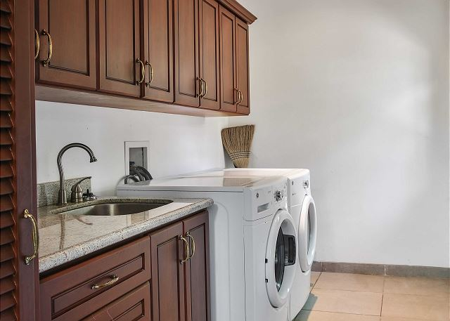 Laundry Room at Casa Serena
