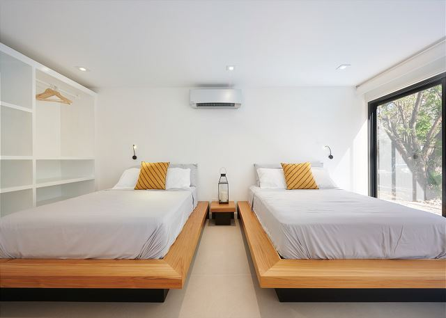 Full beds are great for families with kids