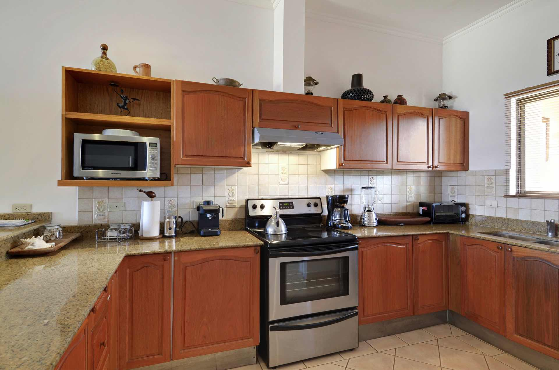 Kitchen with high quality appliances