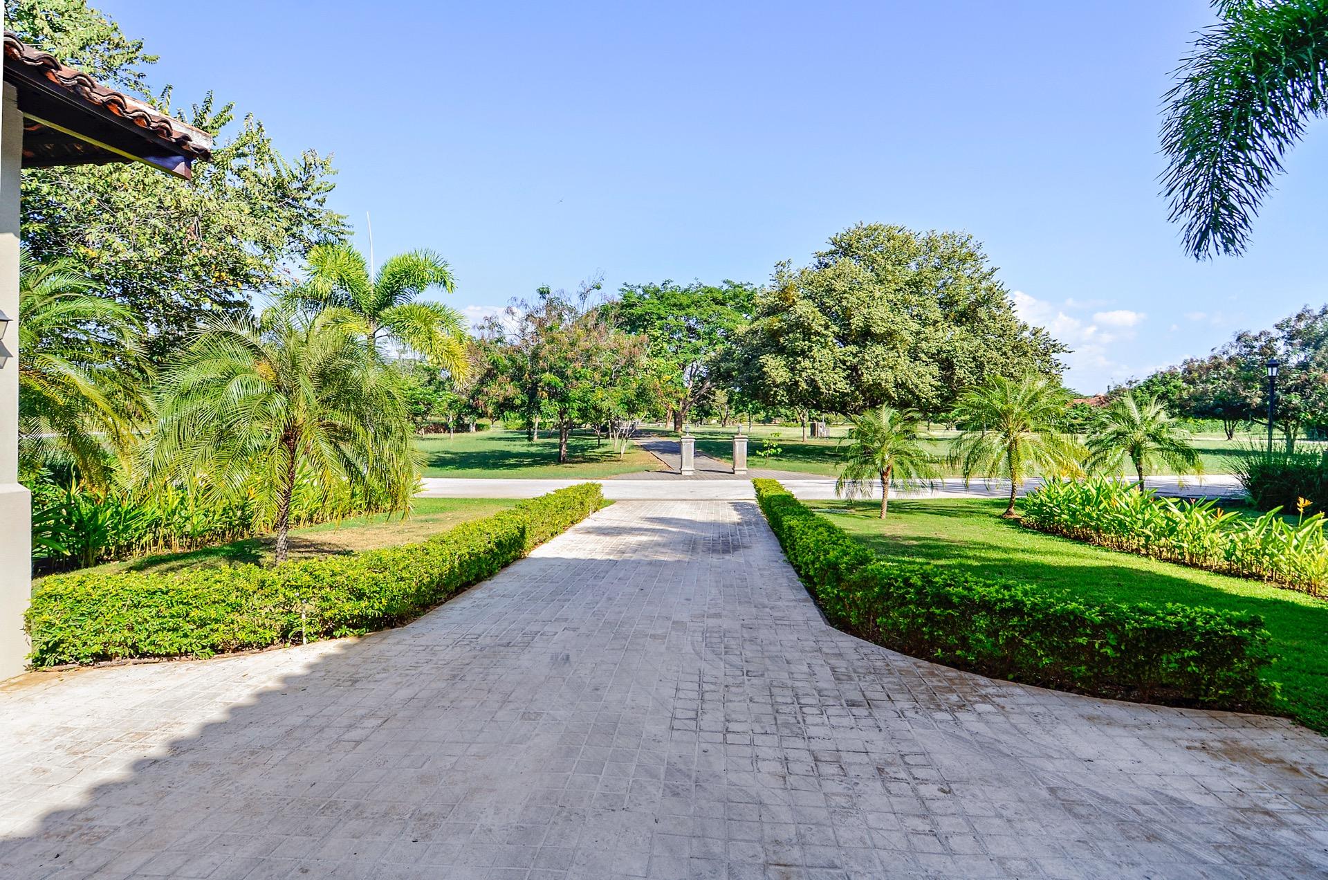 Entrance to Casa Oasis