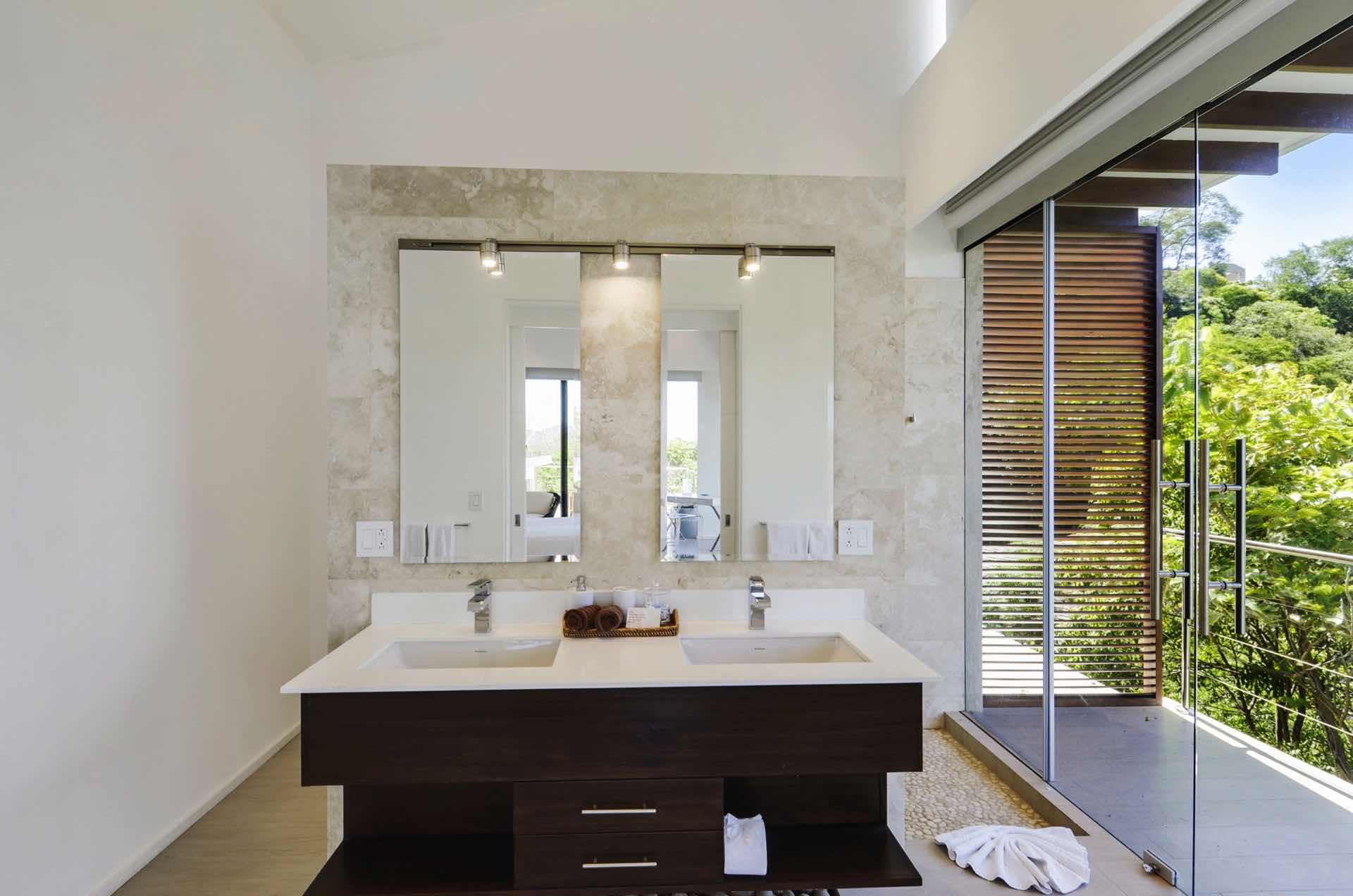Double sinks make this BR great for couples!