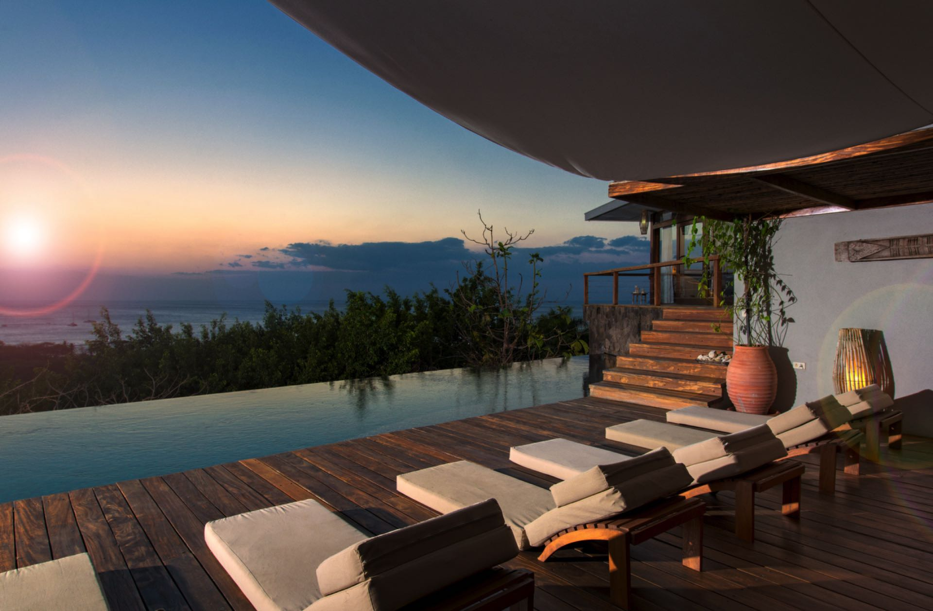Luxury accommodations with a breathtaking view