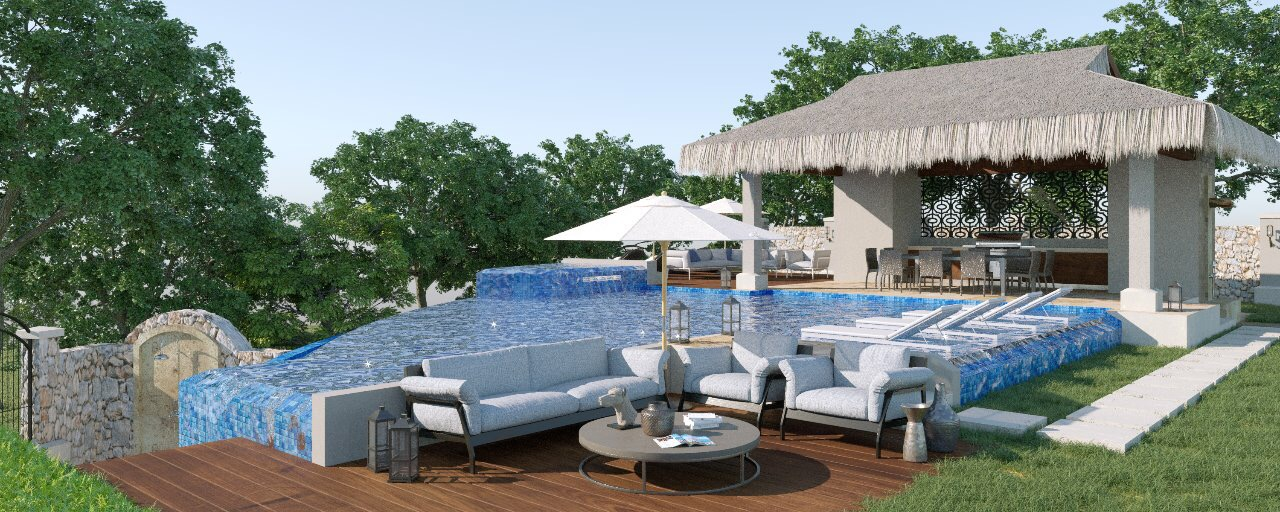 Pool and Patio Deck